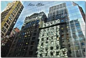 Midtown Reflections I by BusyBeePhotography