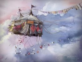Flying Circus by Sukhotskaya