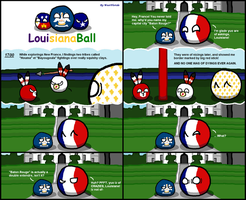 Polandball: Baton Rouge by Thasiloron