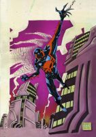 spidey 2099 by mytymark