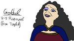 Gothel from Tangled (simplified) by TurtliLP