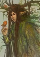 forest god by oranges-lemons