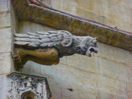 Brussel Gargoyle 4 by Art-and-books