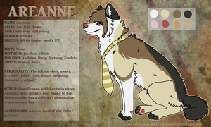 Areanne Reference by pandapoots