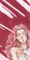 Traditional Commission- Valerie Bookmark by Lilith-the-5th