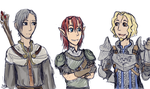 Oc crossover - Dragon Age by SilverRacoon