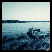 Lonely Boat by graphtec