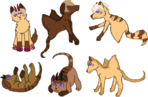 Nirei x Buggie Litter - Closed by KittehzAdopts