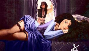 My dear Angelica, wake up for your Jack Sparrow by feline927