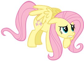 Scared Fluttershy by CrusierPL