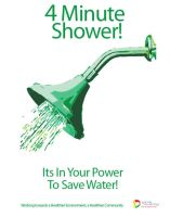 Save Water 4 Minute Shower by Lanni791