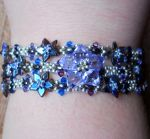 Hanami Stacking Bracelet by OdinsBeadHall
