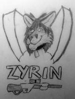 Zyrin Con Badge by DJ-Darc