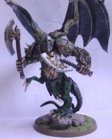 Nurgle Daemon Prince - WH40K by TYKMauro