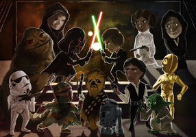 Star Wars by Urnam-BOT
