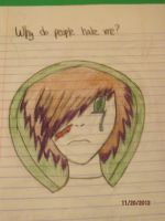 Why do people hate me? by FogandDreams