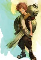 Gaara the Desert by cuson
