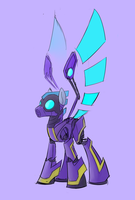 Megamare X - Shadowbolt v2 by Underpable