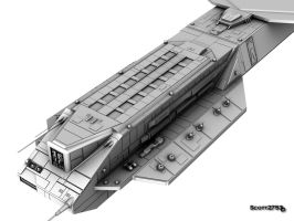BC-304 Daedalus WIP 6 by 2753Productions