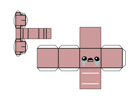 The Binding of Isaac: Isaac template by optimaxion