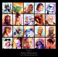 Star Wars Portraits by roberthendrickson