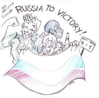 Russia to victory by KiraSaintclair