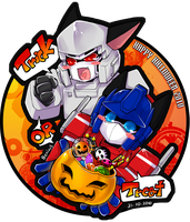 TF : HappyHalloween2010 by Beriuos