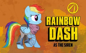 Meet Rainbow Dash, The Siren by McDashin