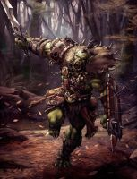 Savage orc by jobofunstudios