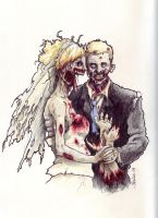 Zombie Wedding by ringbearer80