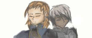 Anders and Fenris by DreamXxXDemon178