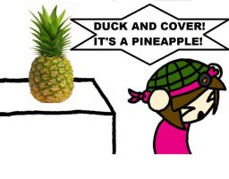 IT'S A PINEAPPLE by megrim96