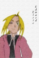Edward Elric by Overlord-Terokagae