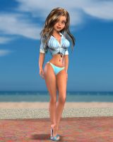 A Sunny Day at the Beach by RexAngelorum