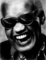 ray charles by ElifLamRa