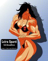 Manga Muscle Girl Leira by elee0228