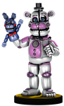 Funtime Freddy Amiibo by FLOOMEZ