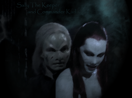 Karl and Sally by MysteriaWraith