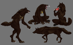 Werewolf Commission by Nhyra