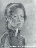 Katniss by SunlessRise