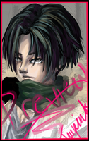 SnK Levi Paint Preview by TruPink