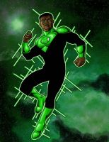 Green Lantern: John Stewart by north-green