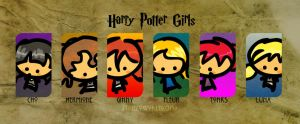 hp girls by Thiefoworld