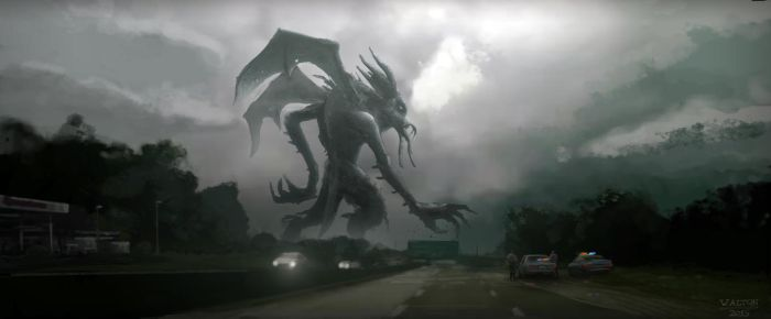Rise of Cthulhu by AltonDesignStudio