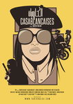 Casablancaises - Movie poster by tarikraiss