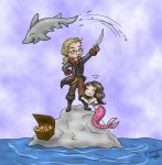 Chibi Pirate King by Captain-Savvy