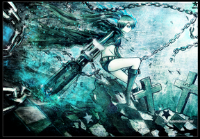 Black Rock Shooter by MadMetroid