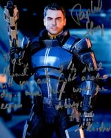 Kaidan (Raphael Sbarge) Inscription (DCC) by GSJennsen