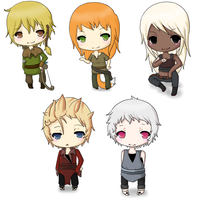 Chibi Commissions by Dark--Remorse
