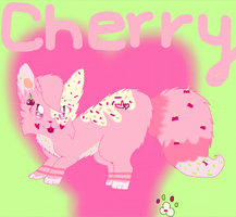 Cherry Cheesecake-Reference Sheet ~Official~ by xXPastelWishesXx